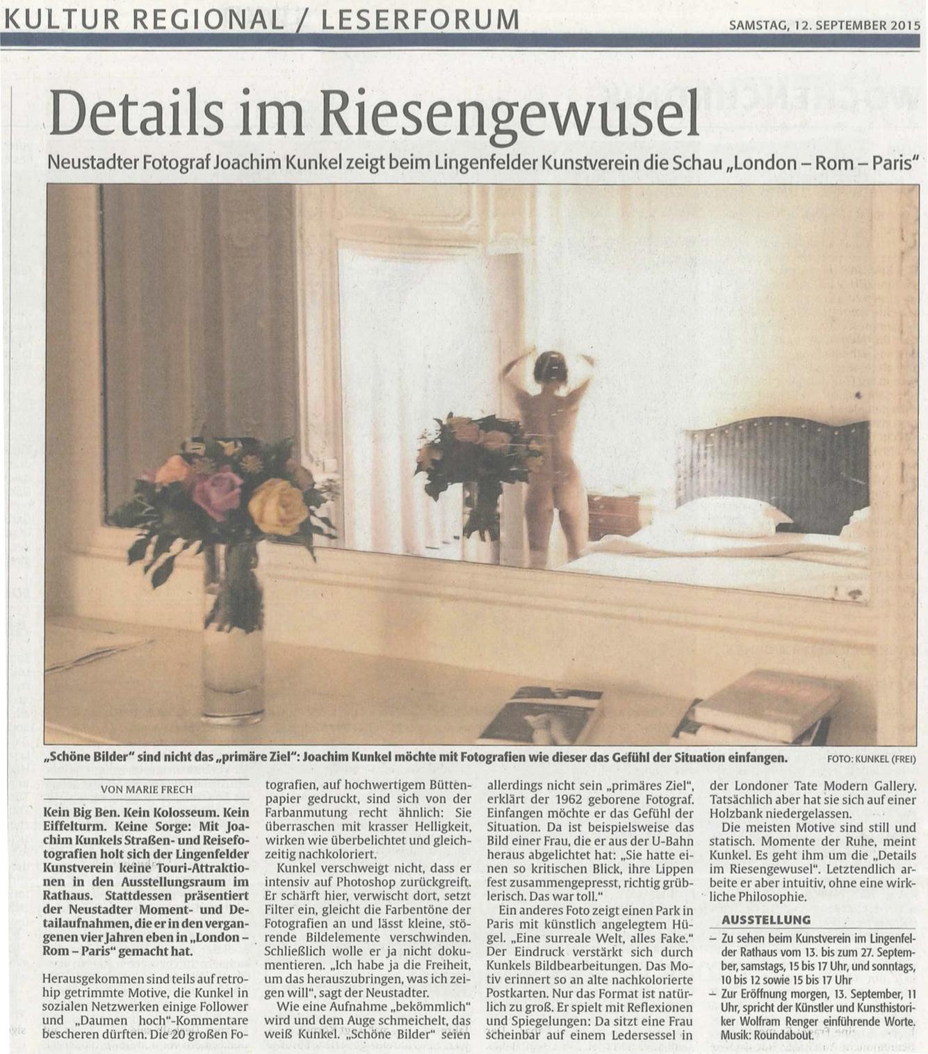150911 Rheinpfalz Artikel
